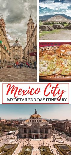 THE PERFECT 3-DAY MEXICO CITY ITINERARY   BEST PLACES TO EAT AND STAY!  #mexicocity #mexicocityitinerary #mexicocitytravel #mexicotravel #mexicocitytour #thingstodo #centralamerica #mexicancapital #mexican #mexicanitinerary #weekendtrip Mexico City Tours, Mexico Destinations, Usa Travel, South America Travel, North America, Visit Mexico, Mexico Travel, Weekend Trips, Central America