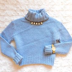 J. Crew Cropped Chunky Turtleneck Sweater In EUC, worn very gently with minor signs of wear. Size XS, but could also fit someone who wears a small. 3rd photo is a stock photo in a different color. Made of wool and acrylic. Smoke/pet free home. Ask all questions before buying NO trades ❌ bundle for a discount  J. Crew Sweaters Cowl & Turtlenecks