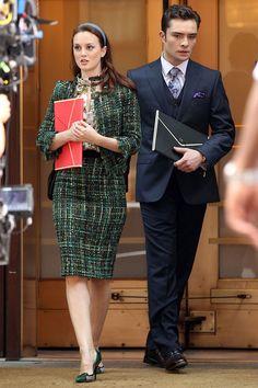 Blair Waldorf and Chuck Bass