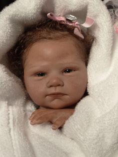 ISABELLE Reborn by Ruth Aguilar Le Ruban Rose Nursery Serene Kit, sculpt by Tammie Yarie
