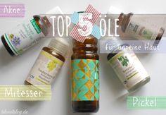 Beste 100% natürliche Öle für unreine, fettige Haut & Mischhaut. Alles was du wissen solltest & Anwendungs-Tipps für reine Haut ohne Akne, Pickel, Mitesser