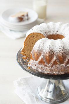 Honey Gingerbread Bundt Cake