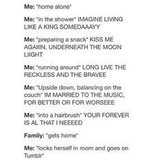 An exact description of what happens when my parents are gone.