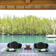 the Amanyara Spa on a journey of sublime rejuvenation.