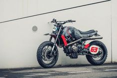 🏁 caferacerpasion.com 🏁 Yamaha XSR700 #Scrambler by Maria Riding...