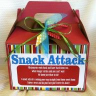 Missionary Snack Attack Package