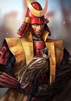 Samurai Weapons, Samurai Warrior, Fantasy Warrior, Fantasy Rpg, Samurai Wallpaper, The Last Samurai, Japan Illustration, Samurai Artwork, Japanese Warrior