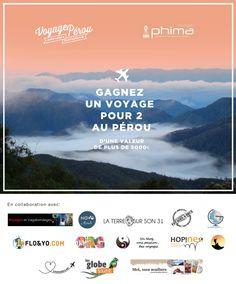 Gagner un voyage au Pérou pour deux personnes. Participez avant le 15 avril!