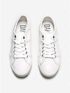 milton sneaker white