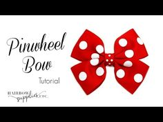 How to Make a Butterfly Hair Bow - TheRibbonRetreat.com - YouTube
