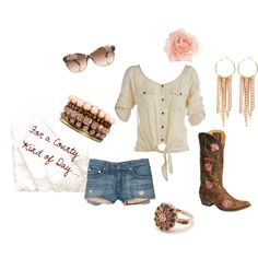 Country Kind of Day, created by tiffytails on Polyvore