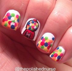 15 Best Bubblegum Nails Images On Pinterest