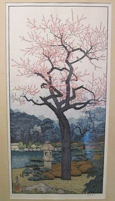 Toshi Yoshida Japanese Woodblock Prints triptych right by wearitsatvintage, via Flickr