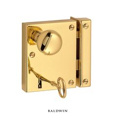 Baldwin rim locks are authentically recreated and engineered to today's standards of strength, security, and durability.
