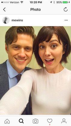 Aaron Tveit and Mart Elizabeth Winstead. Braindead CBS