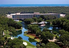 Sawgrass Resort, Ponte Vedra, Flodria. We live 5 mins away from here and we stay here right before moving to Tennessee. and we got up really early  to watch a meteor shower with the golf in the background it was beautiful