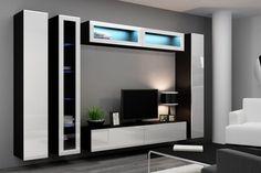 Белая стенка в гостиную - 82 фото красивых идей организации мебели