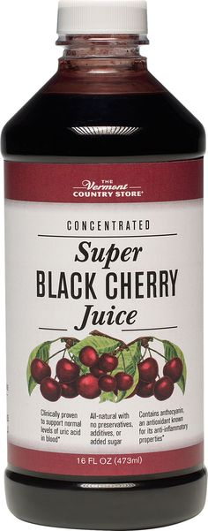 Black cherry concentrate for arthritis