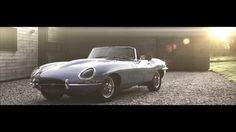 The E-Type Zero - A remake of the classic E-Type Roadster with an all electric powertrain for zero emissions