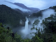 Les chutes de San Rafael, en Equateur