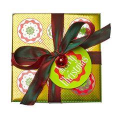 Merry Christmas swatch image Holiday Gift Guide, Holiday Gifts, Holiday Decor, Unique Gifts, Best Gifts, Handmade Gifts, Lush Fresh, Handmade Cosmetics, Lush Products