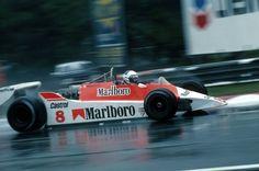 Alain Prost (McLaren-Ford) Grand Prix de Belgique - Zolder 1980 - Gil Saunders - Formula 1 HIGH RES photos (Old and New) Facebook.