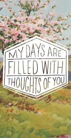 Thoughts of you : I miss you SDLR
