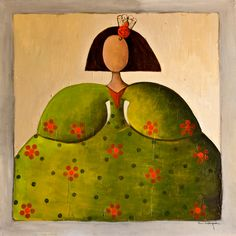 Pinzellades al món: Les menines Easy Canvas Painting, Tole Painting, Palette Knife Painting, Vincent Van Gogh, Ceramic Art, Mixed Media Art, Rock And Roll, Illustration Art, Art Illustrations