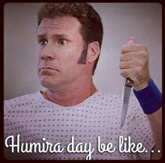 Since last Friday's blog post, a few things have happened in my Crohn's and wellness Humira Wednesday #2.  Link in Bio! . . . #crohns #humira #itcouldbeworse #blog