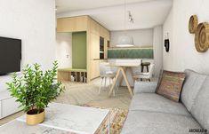 Archilab - flat in Slnečnice, Bratislava www. Bratislava, Cozy Apartment, Scandinavian Living, Cozy House, Entrance, Dining Room, Live, Bed, Interior
