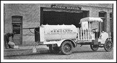 1914 April Packard Delivery Truck Bulk Oil Zerolene, 'The Standard Oil Company for Motor Cars, Standard Oil California Dump Trucks, Cool Trucks, Pickup Trucks, Antique Trucks, Vintage Trucks, Fuel Truck, Standard Oil, Antique Cameras, Gas Pumps