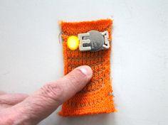 Basic textile push button kit