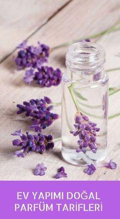 Evde bitkisel malzemelerle hazırlayabileceğiniz enfes kokulu doğal bayan parfümü tarifleri.