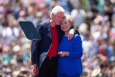 Bill Clinton y Hillary Clinton - Hillary Clinton, a las puertas de la Casa Blanca