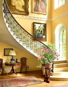 The Cantilevered Staircase Bowood House An Eighth Century English Country With Grand Robert Adam Interiors And Capability Brown Landscapes