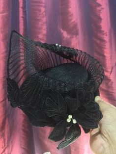 Crin and Sinamay HatBY MANDY PAN #millinery #hats #HatAcademy