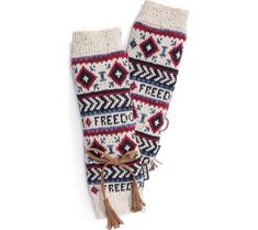 Women's MUK LUKS Freedom Arm Warmer - Multi with FREE Shipping & Exchanges. Embrace the cold wearing the lightweight and form-fitting MUK LUKS Freedom Arm Warmers. Made from a