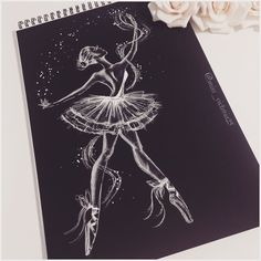 Cool Art Drawings Black Paper 51 Ideas For 2019 Cool Art Drawings, Art Drawings Sketches, Art Sketches, Black Paper Drawing, Recycled Art Projects, Dance Paintings, Art Sketchbook, Fashion Sketchbook, Diy Canvas Art