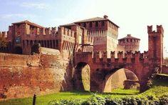 Soncino: visita una dei castelli più belli d'Italia #castello #lombardia #viaggi #rocca #borghi