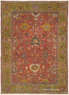 12 Best Antique Persian Mahal Carpets