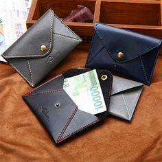 1Pcs 2016 Fashion Men Wallets Faux Leather Bifold Wallet ID Credit Card Holder Coin Purse Pockets Clutch without Zipper Wallets