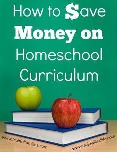 How to Save Money on Homeschool Curriculum - a list of 10 tips and ideas.