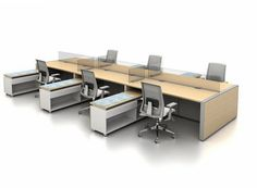 FINANCIAL (Banking) & CORPORATE Benching Systems (Cubicles) - photos.honour-industries.ws