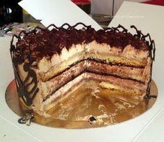 PIN - UP CAKE: Tort Tiramisu (z kremem bez żółtek) Tiramisu Cake, Eat Cake, Birthday Cake, Baking, Ethnic Recipes, Pin Up, Buddy Holly, Food, Pies