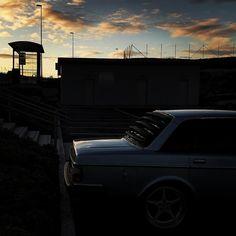 #sunset #volvo #indreøstfold