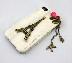 Eiffel TowerbirdIphone Case iPhone 5 Case iphone 5 by DreamZone, $9.99