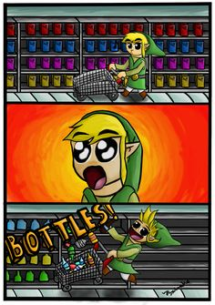 Link's face XD