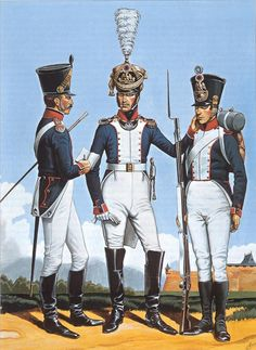 Infantería de Línea, 1813. Más en www.elgrancapitan.org/foro