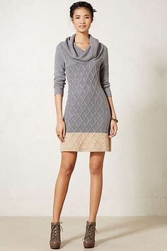 Anthropologie - Cowlneck Sweater Tunic