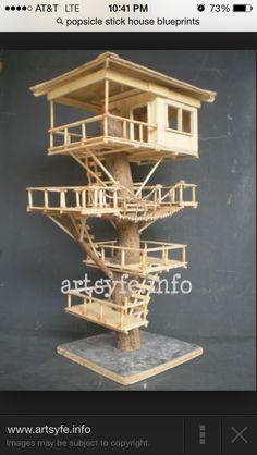 Treehouse for hams!